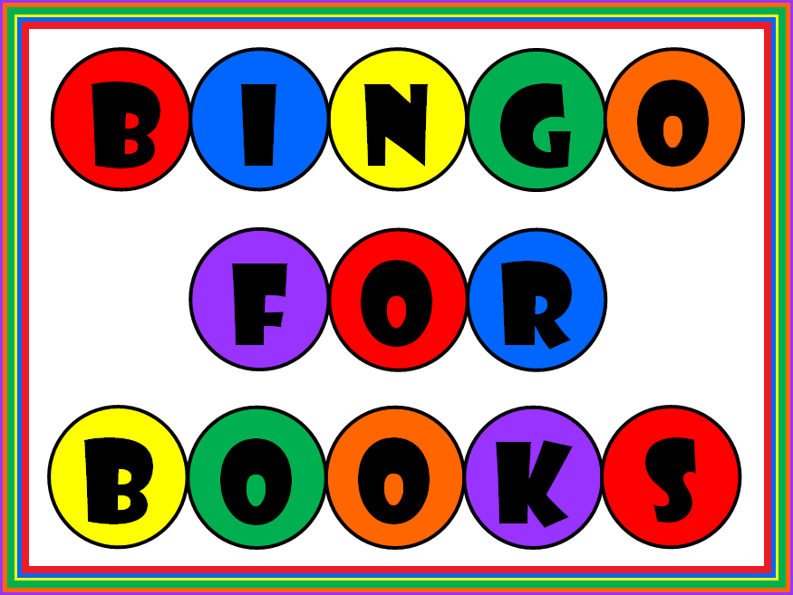 A poster that reads: Book Bingo