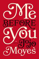 Cover of 'Me Before You'