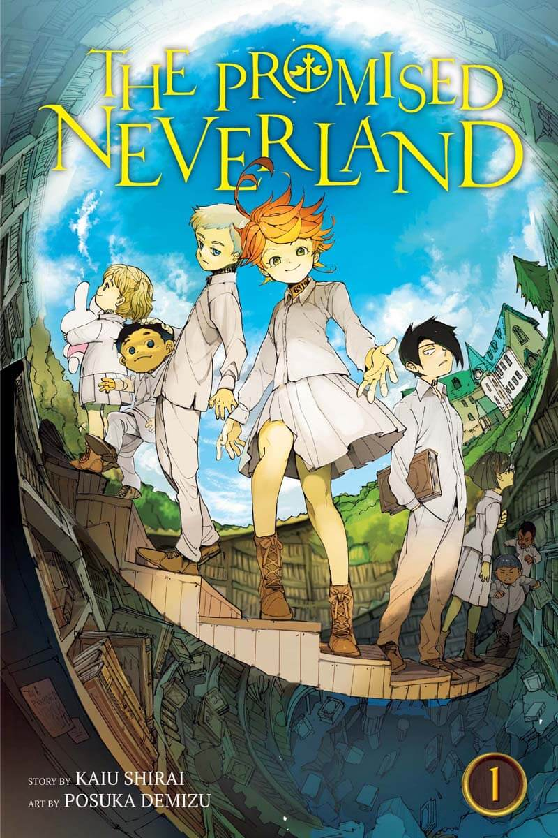Cover of The Promised Neverland, vol. 1 by Kaiu Shirai