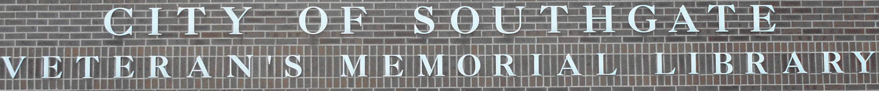 Banner image: Exterior sign for Southgate Library